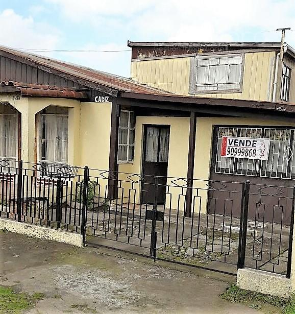 Casa en Venta 4D 1B, Terreno 220 m2 en Hualpen