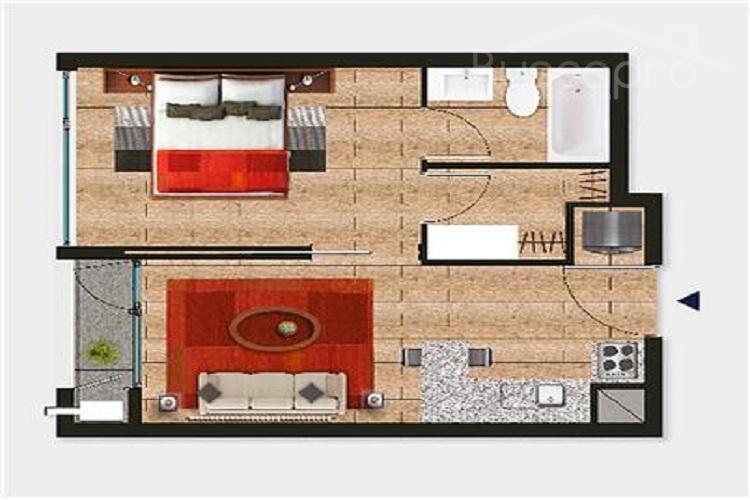 Departamento NUEVO, Cercano UDEC 1 dormitorio con estacionamiento