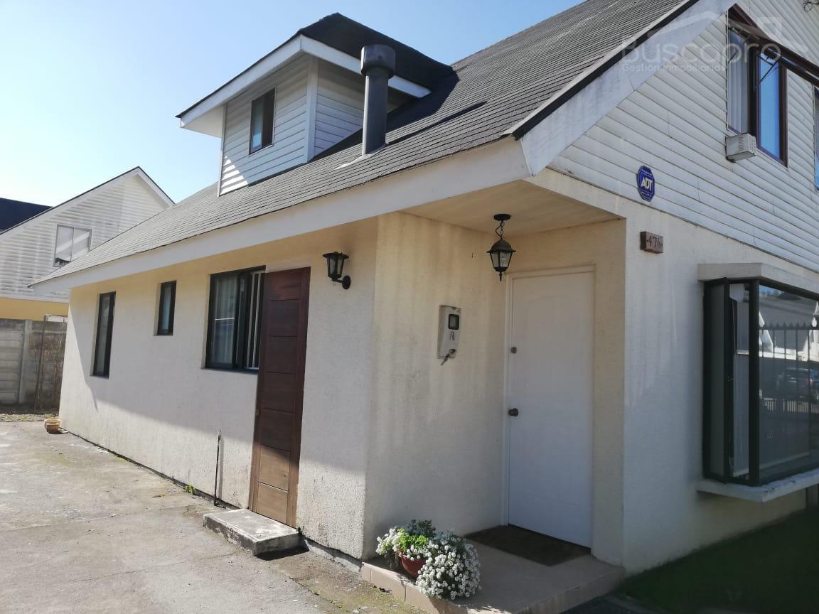 Amplia casa 4D 2B 2E en arriendo, Altos de Chiguayante