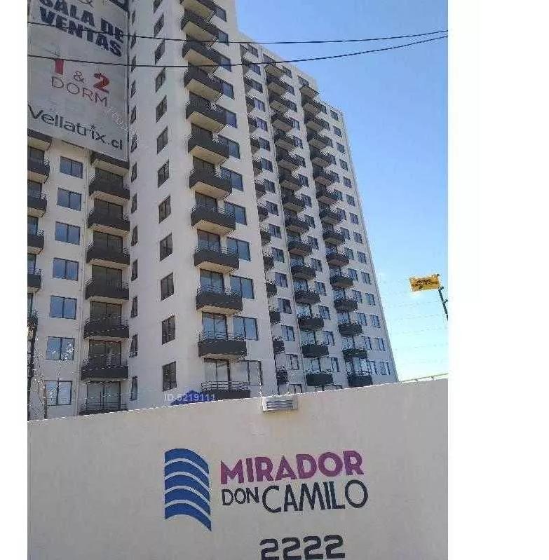 NUEVO a pasos Terminal Camilo Henriquez Depto 2D 2B 1E