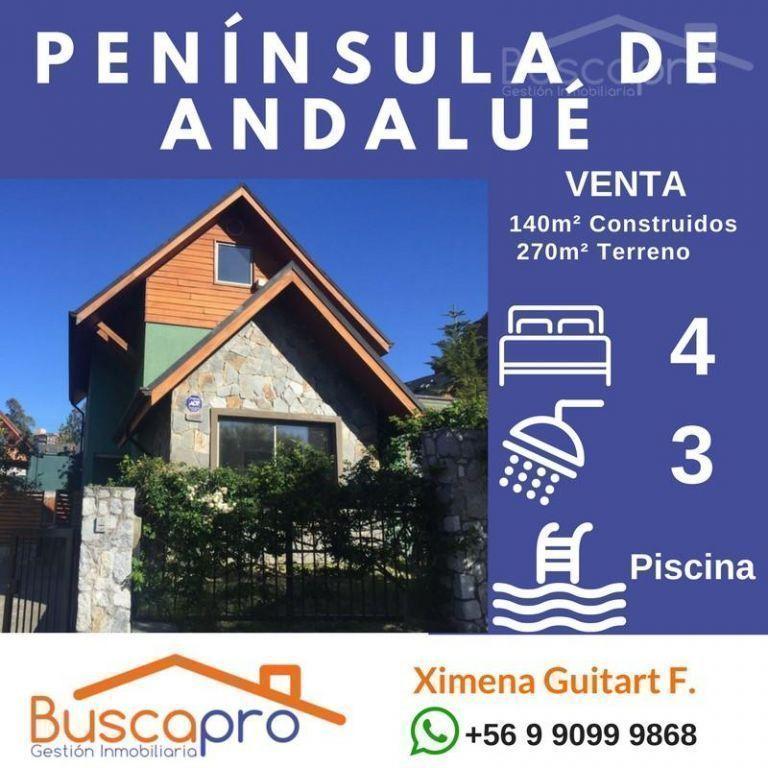 Peninsula Andalue, Maravillosa Residencia, mansarda, piscina, quincho