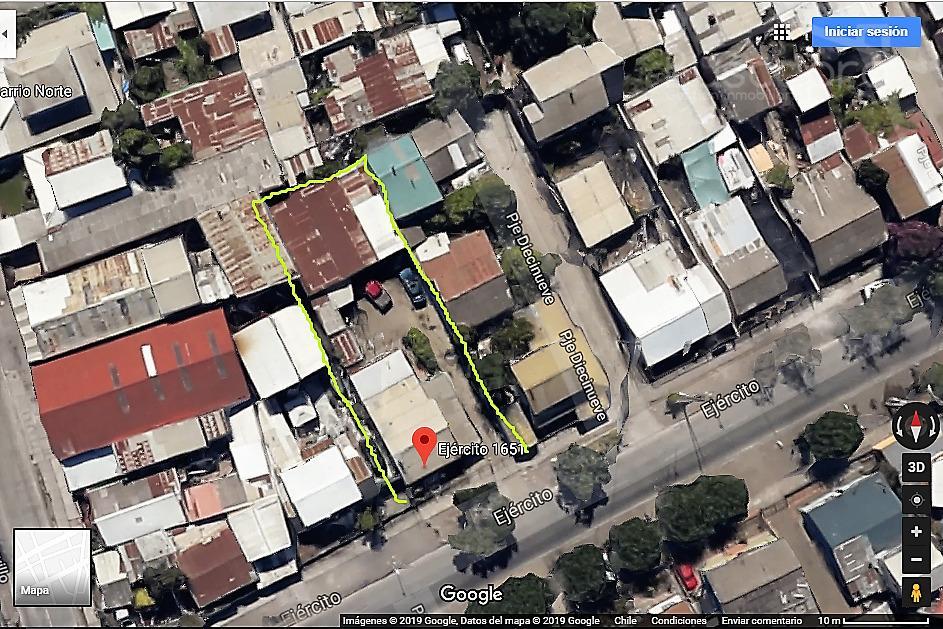 A pasos Paicavi, propiedad de 481 metros en Venta con Casa y Galpón